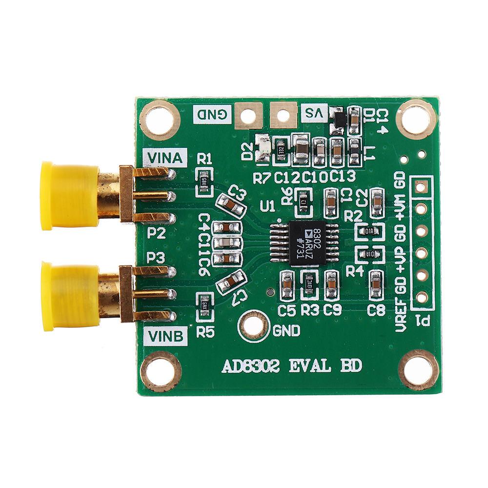 AD8302 Wideband Fase Amplitudo Modul Deteksi Impedansi Analisis Amplifier Amplifier Mixer Mixer dan Pengukuran Fase