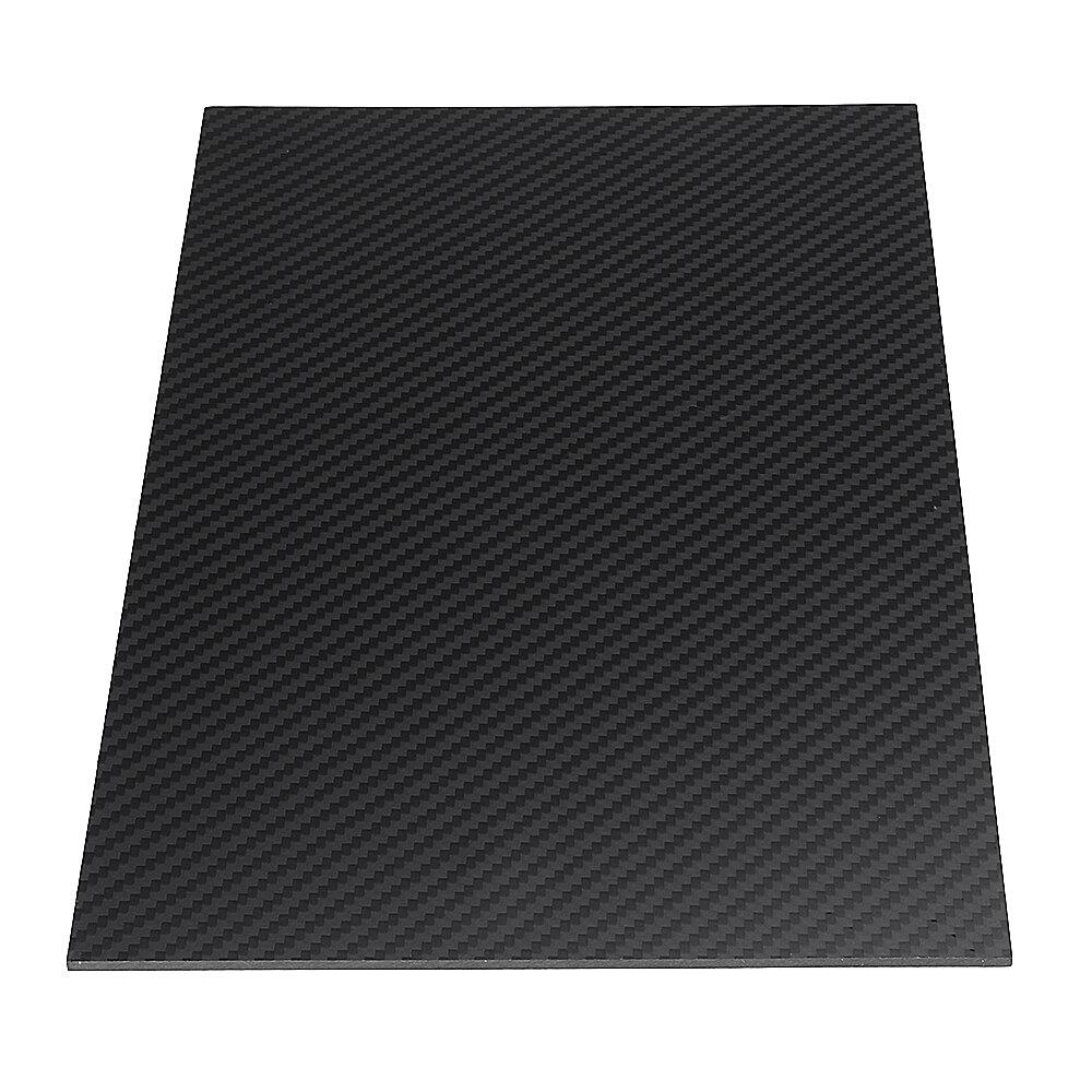 400X500mm 3K Carbon Fiber Board Carbon Fiber Plate Twill Weave Matte Panel  Sheet 0 5-5mm Thickness