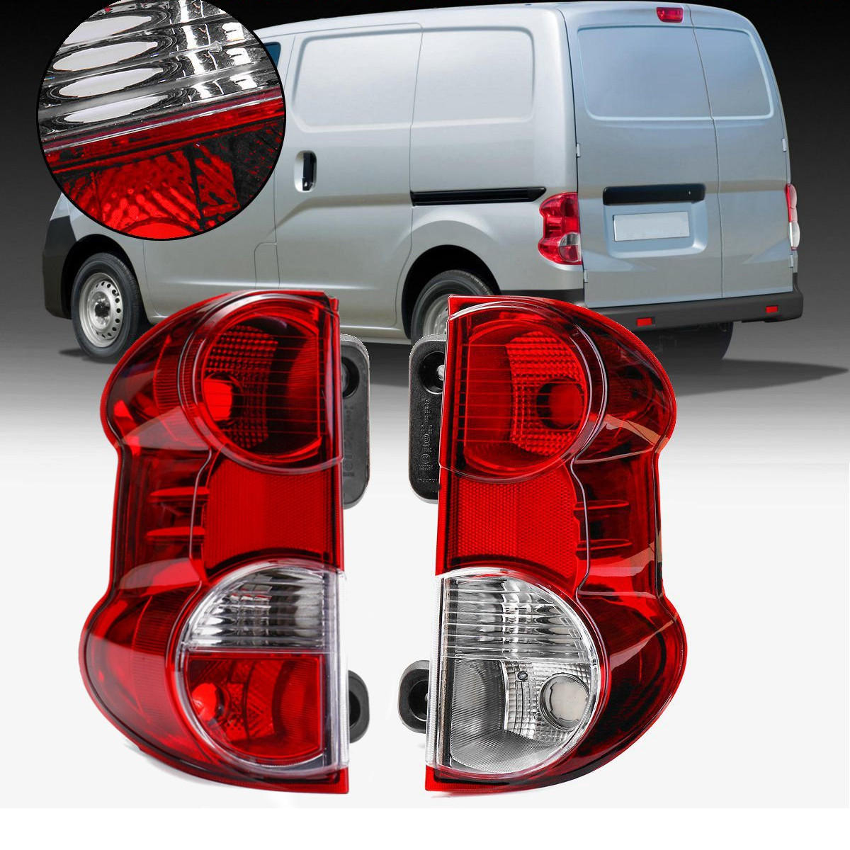 Right Side Tail Light Signal Rear Lamp Assembly for Nissan NV200 2013 2014 2015
