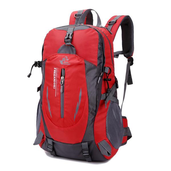 40L Рюкзак большой емкости для путешествий Водонепроницаемы Nylon На открытом воздухе Рюкзак для Женское мужчин