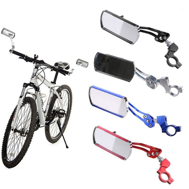360° Rotate Adjustable Handlebar Rearview Mirror For Cycling Bike MTB Bicycle