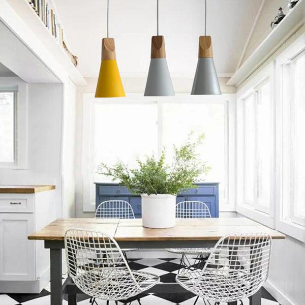 Single Head Diameter 11cm Creative Bar Coffee Dining Room Pendant Hanging Ceiling Light Fixture