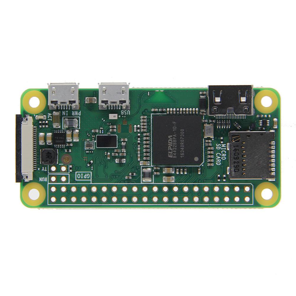 Raspberry Pi Zero W 1GHz enstaka CPU 512MB RAM Stöd för Bluetooth och trådlöst LAN