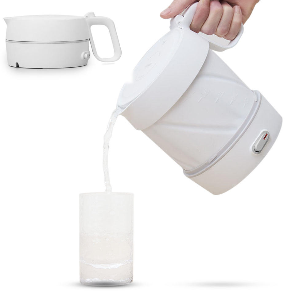 HappyLIfe HL 600W / 1L Folding Electric Kettle Handheld Instant Heating Electric Water Kettle Auto Power Off Protection Wired Kettle From Xiaomi Youpin