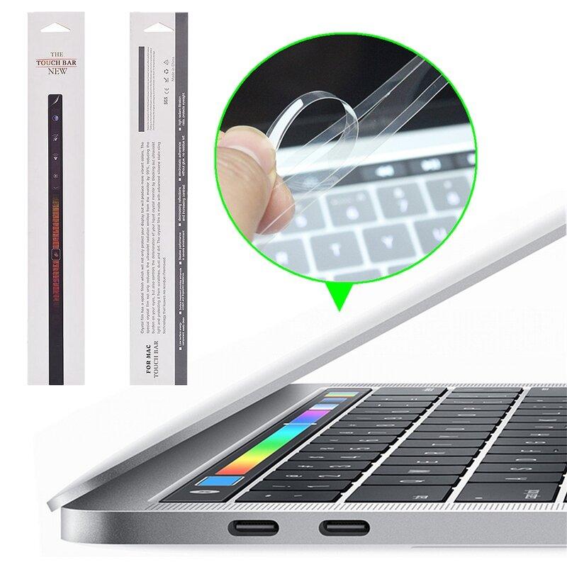 "PET HD Clear Touch Bar Beskyttelsesfilm til MacBook Pro Touch Bar 13 ""/ 15"" 2016"