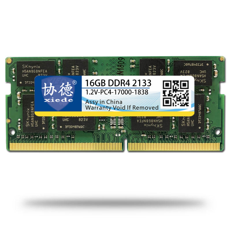 XIEDE X059 notebook DDR4 16GB 2133Hz computer memory fully compatible