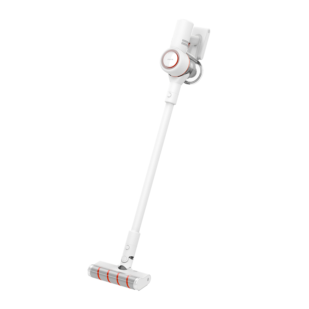 Dreame V8 Household Cordless Vacuum Cleaner with 18000Pa Strong Suction 2000mAh Capacity from Xiaomi Youpin - White