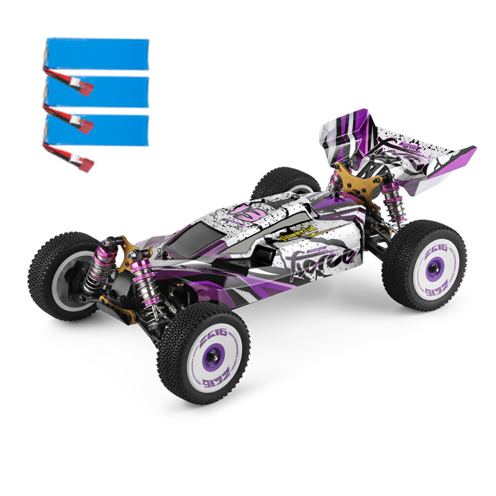 Wltoys 124019 Several 2200mAh Battery RTR 1/12 2.4G 4WD 60km/h Metal Chassis RC Car Vehicles Models Kids Toys