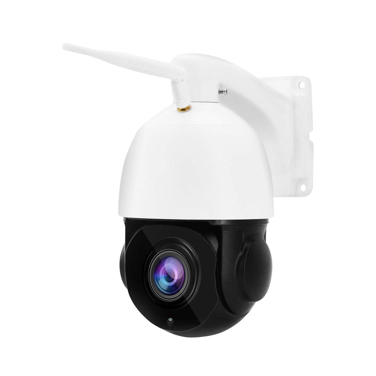 1080 P 30X Zoom WIFI 2.0MP Kamera PTZ IP Pan / Tilt Speed Dome Kamera Audio Wodoodporna Home Security Cameras