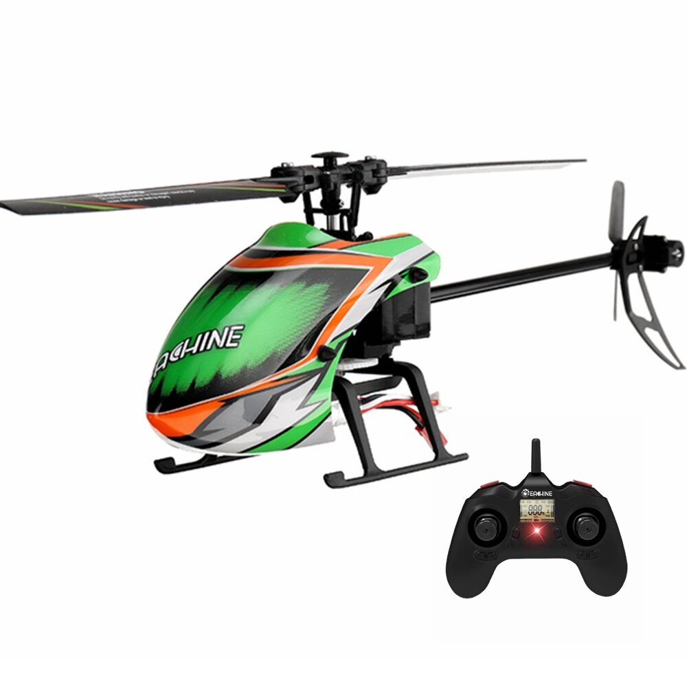 Banggood coupon: Eachine E130 2.4G 4CH 6 eixos Gyro Altitude Hold Flybarless RC Helicopter RTF