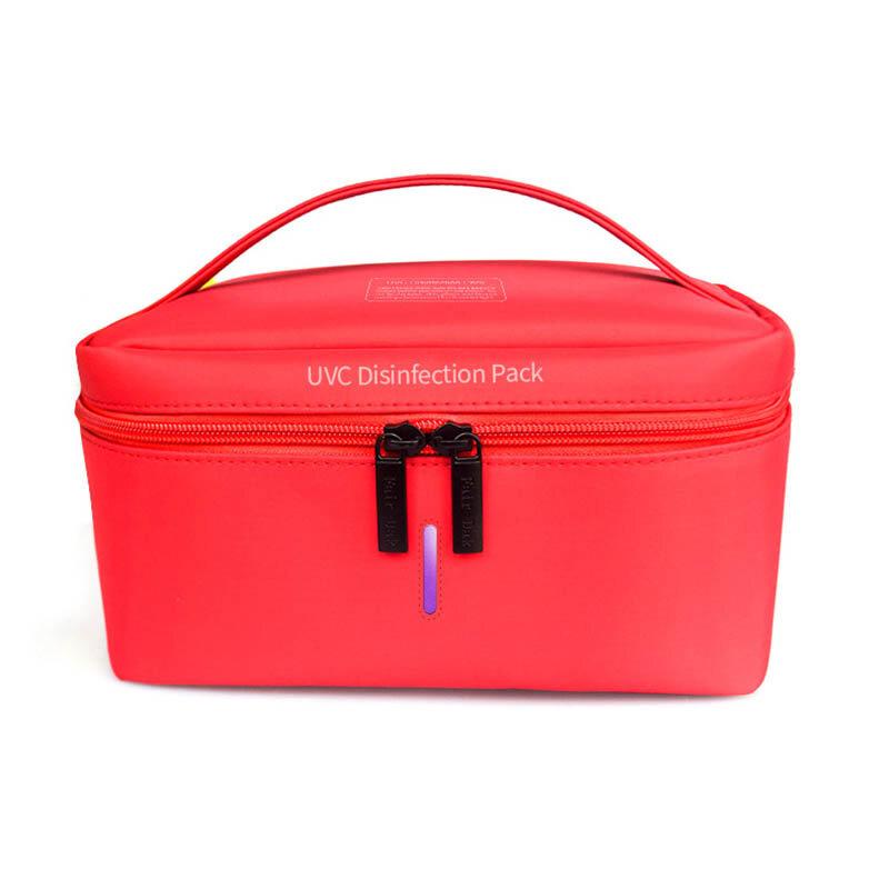 حقيبة تطهير UV معقم صندوق السفر المحمولة USB الأشعة فوق البنفسجية القابلة لإعادة الشحن