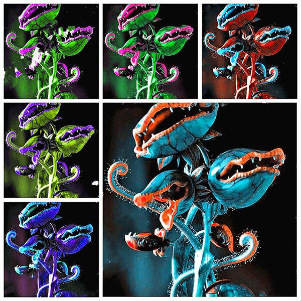 Egrow 100Pcs / Pack Flytrap Семена Сад Potted Dionaea Muscipula Giant Плотоядный Растение Семена