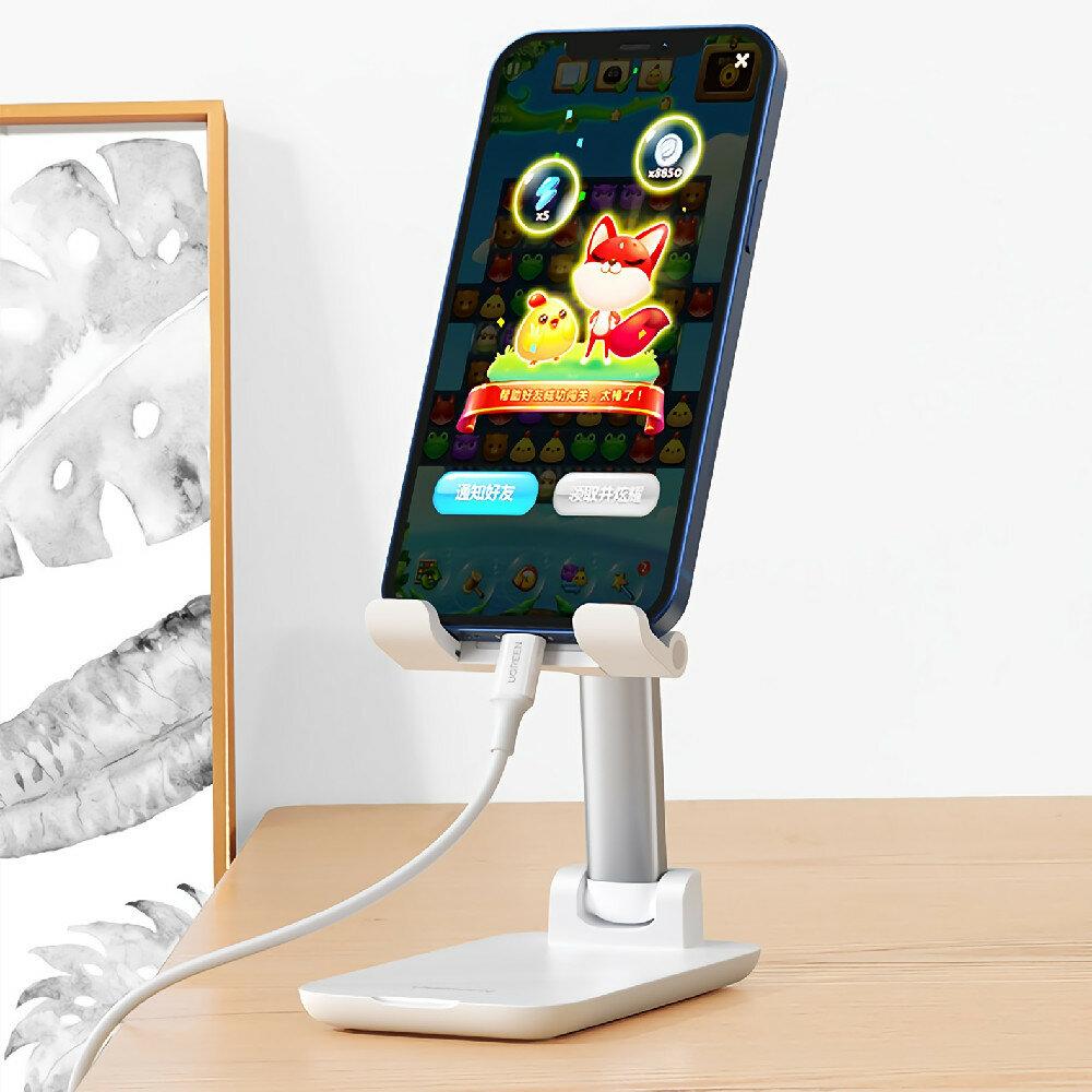 UGREEN LP373 Telescopic Adjustment Folding Bracket Stand for 7.2 Inch Tablet Smartphone