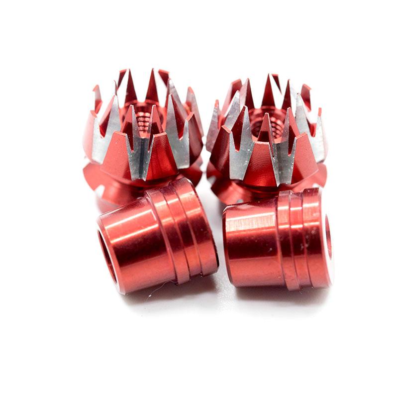 Starpower 3MM CNC Aluminum Gimbal Stick Transmitter Stick Anti-slipping Cap for FrSky Taranis Q X7 X9D Plus FUTABA