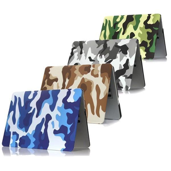 Camouflage Pattern PC Laptop Hard Case Deksel Beskyttende Shell For Apple Macbook Air 13,3 tommer