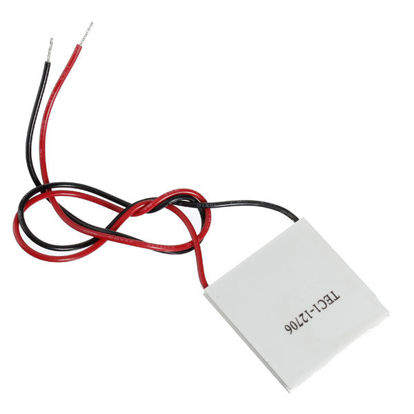 3Pcs TEC1-12706 40x40mm Thermoelectric Cooler Peltier Plate 12V 60W