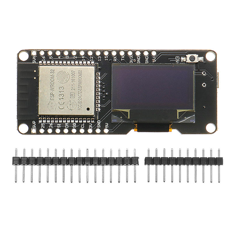 ESP32 OLED Module ESP32 OLED WiFi Module + bluetooth Dual ESP-32 Geekcreit for Arduino - products that work with official Arduino boards