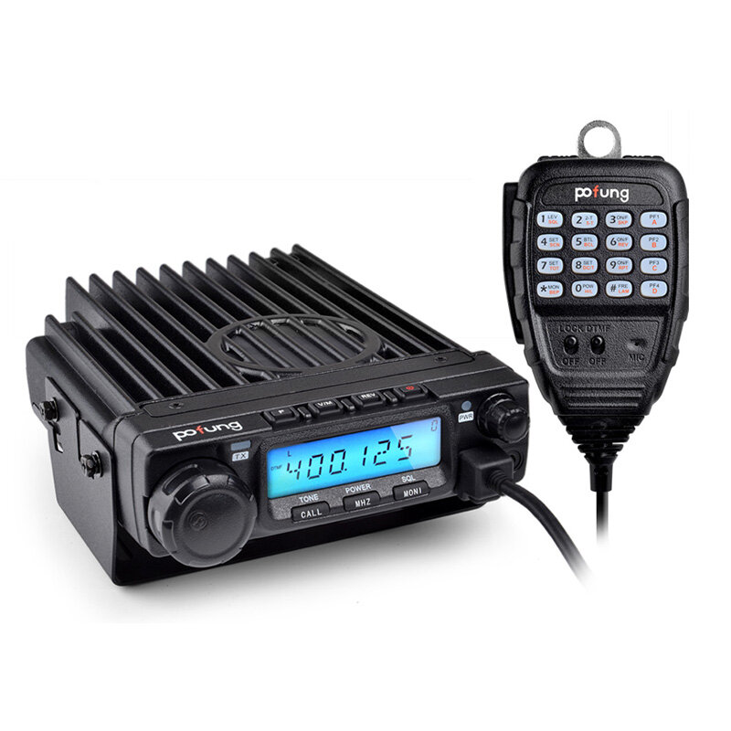 BAOFENG BF-9500 200 Channels 400-470MHz 50W High-power Car Mobile Vehicle Radio Transceiver Walkie Talkie