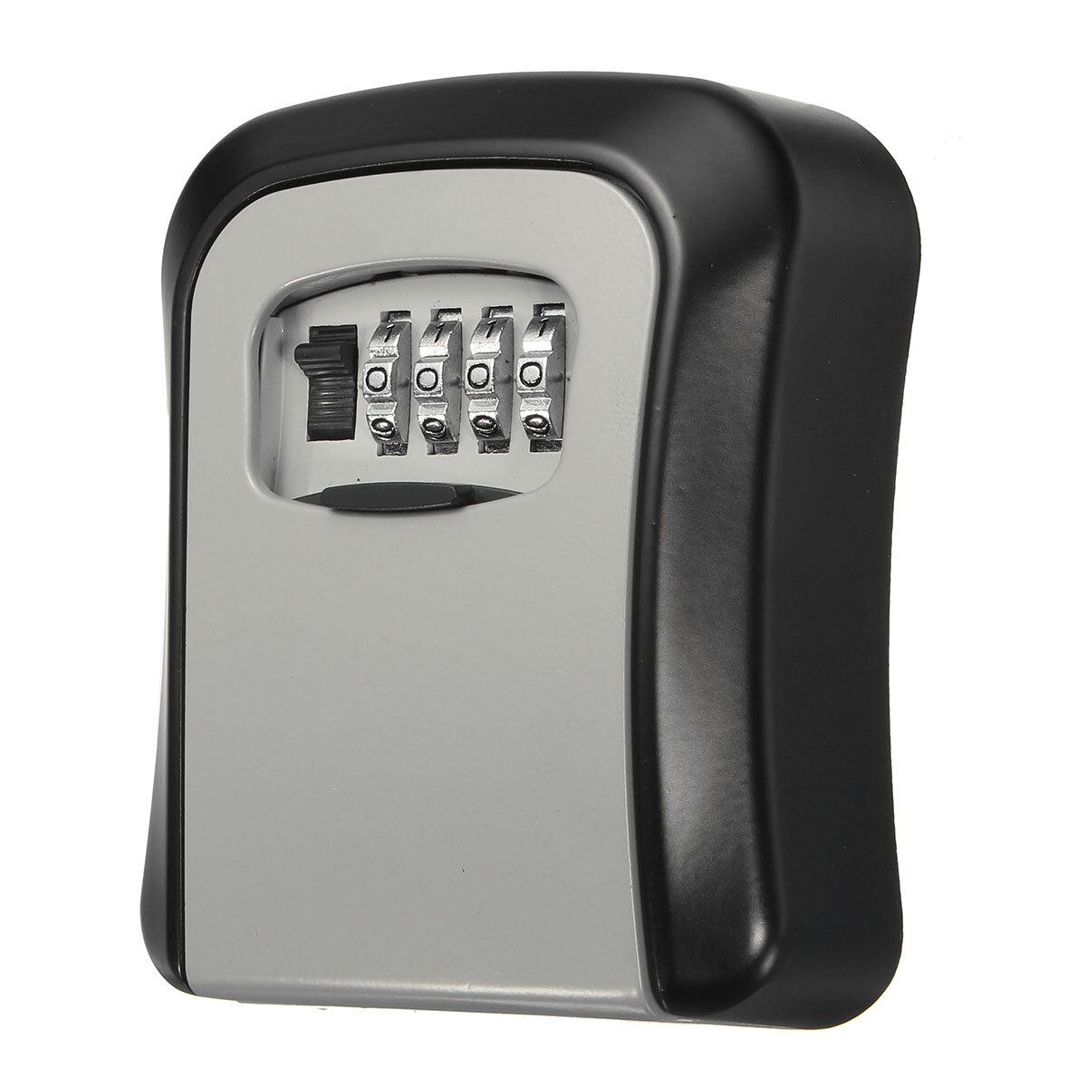 Sichere Sicherheit Outdoor Storage Key ausblenden Safe Box an der Wand befestigt Combination Lock Lockout
