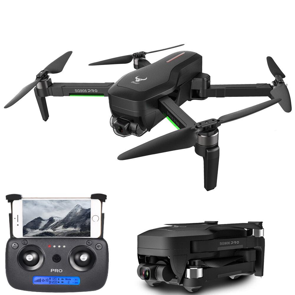 ZLRC SG906 PRO 2 GPS 5G WIFI FPV avec caméra 4K HD cardan 3 axes 28 minutes de temps de vol Drone RC pliable sans brosse Quadricoptère RTF