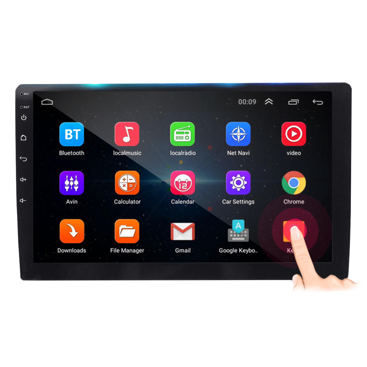 10 1Inch 2 DIN for Android 8 1 Car MP5 Player 1+16G Quard Core Touch Screen  GPS WiFi DVR Support Camera