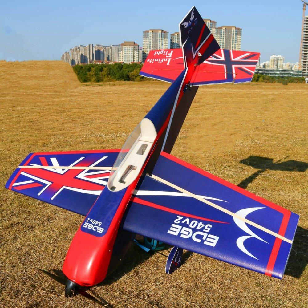 Future Model Edge 540T V2 15E 965mm 38 Inch Wingspan PP 3D Aerobatic RC Airplane KIT-Red