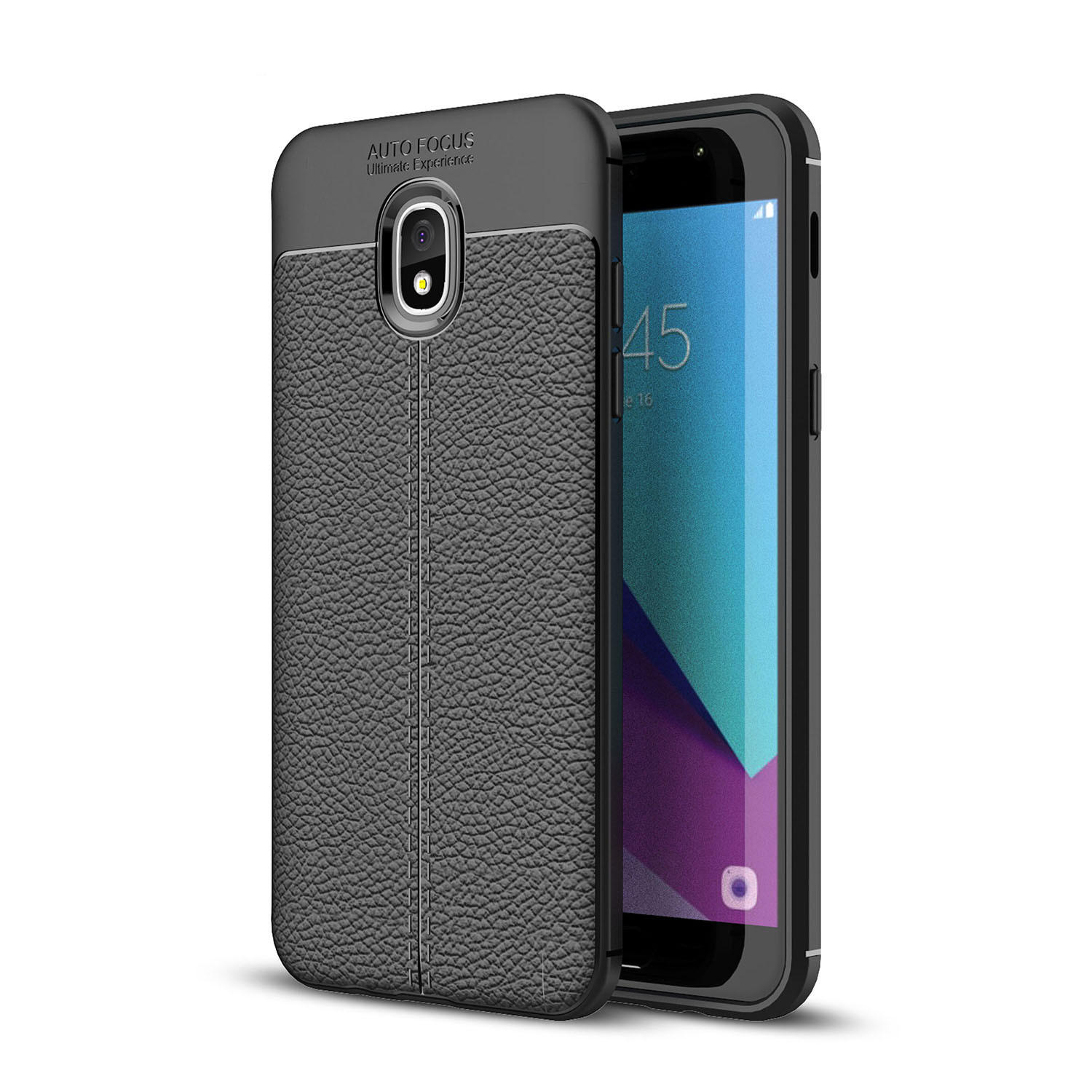 release date: b6488 232d4 Bakeey Litchi Leather Soft TPU Protective Case for Samsung Galaxy J3 2018  US Version