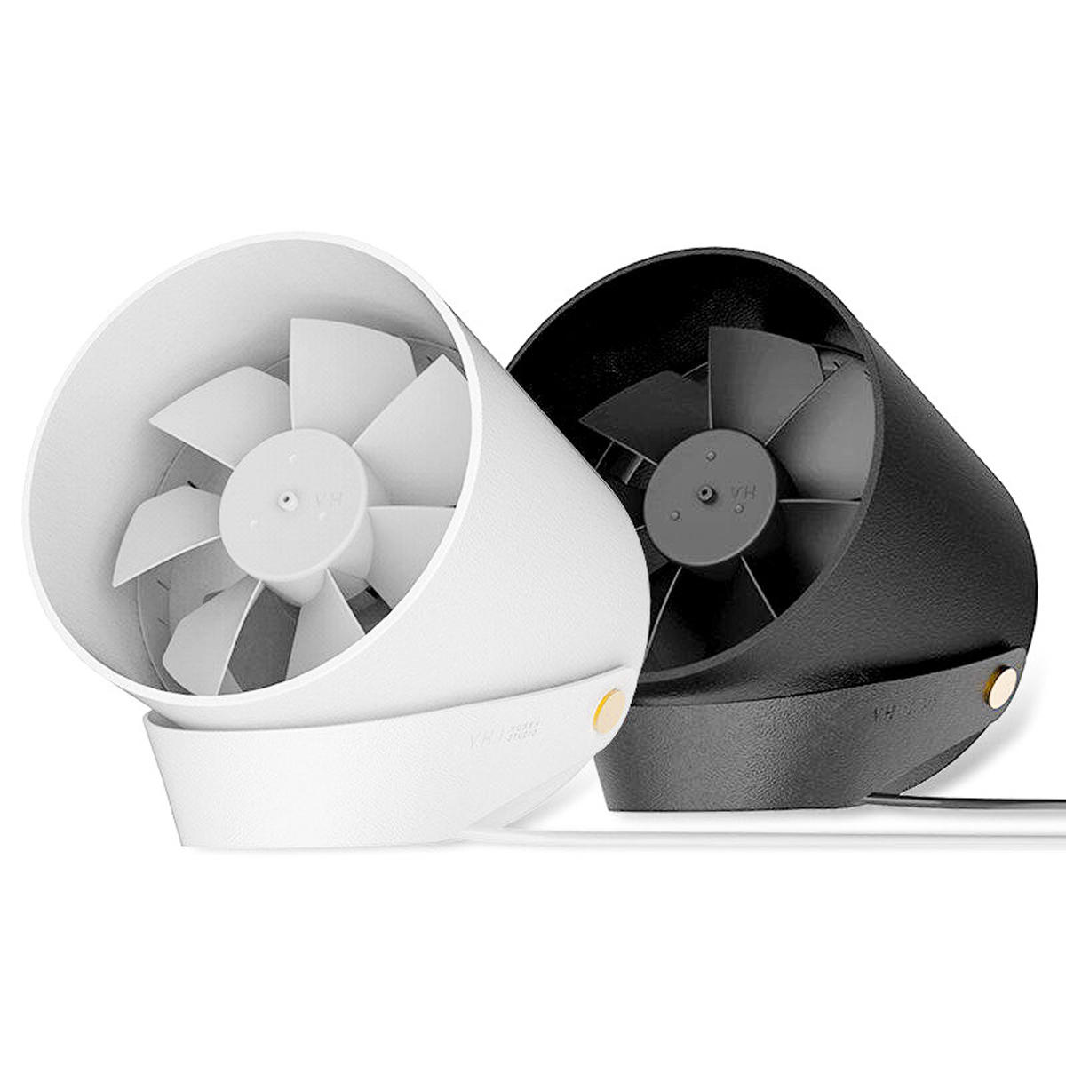 Xiaomi VH DC 5V Portable Mini USB Handheld Desktop Fan 2 Modes Wire Control Switch Wind Cooler