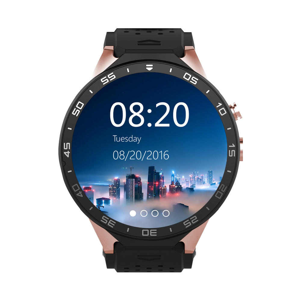 KINGWEAR KW88 1 39-inch MTK6580 Quad Core 1 3GHZ Android 5 1 3G Smart Watch