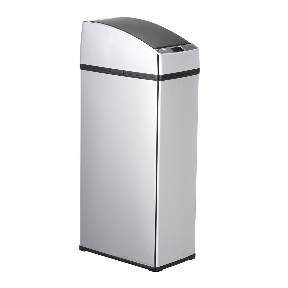 6L Stainless Steel Touch Free Sensor Automatic Touchless Trash Can Kitchen  Office Waste Bins