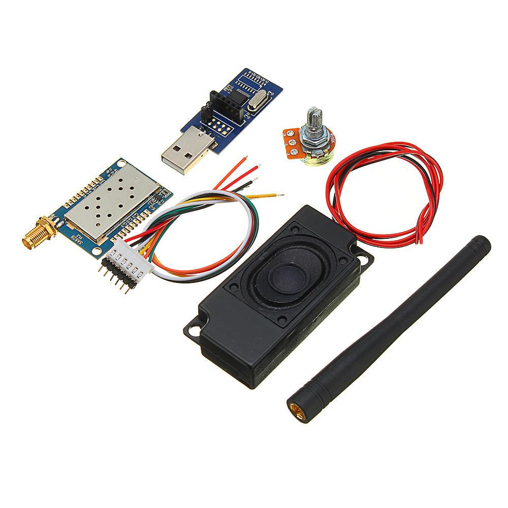 All-in-oneKitMóduloWalkieTalkieSA828 VHF FM Transceptor de Pequeno Volume Módulo de Interfone Sem Fio Embutido