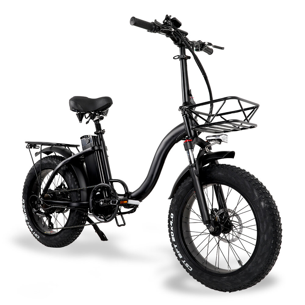 CMACEWHEEL Y20 48v 15Ah 750W 20in Folding Electric Bike 3 Modes 45km/h Max Speed 60-100km Range Disc Brake E Bike