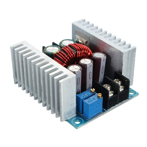 Arduino DC 6-40V To 1.2-36V 300W 20A Constant Current Adjustable Buck Converter Step Down Module Board With Short Circuit Protec фото