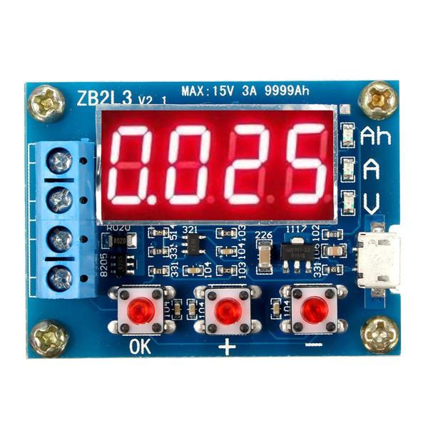 1.2v - 12v Battery Capacity Meter Tester For 18650 li-ion/lead-acid Battery