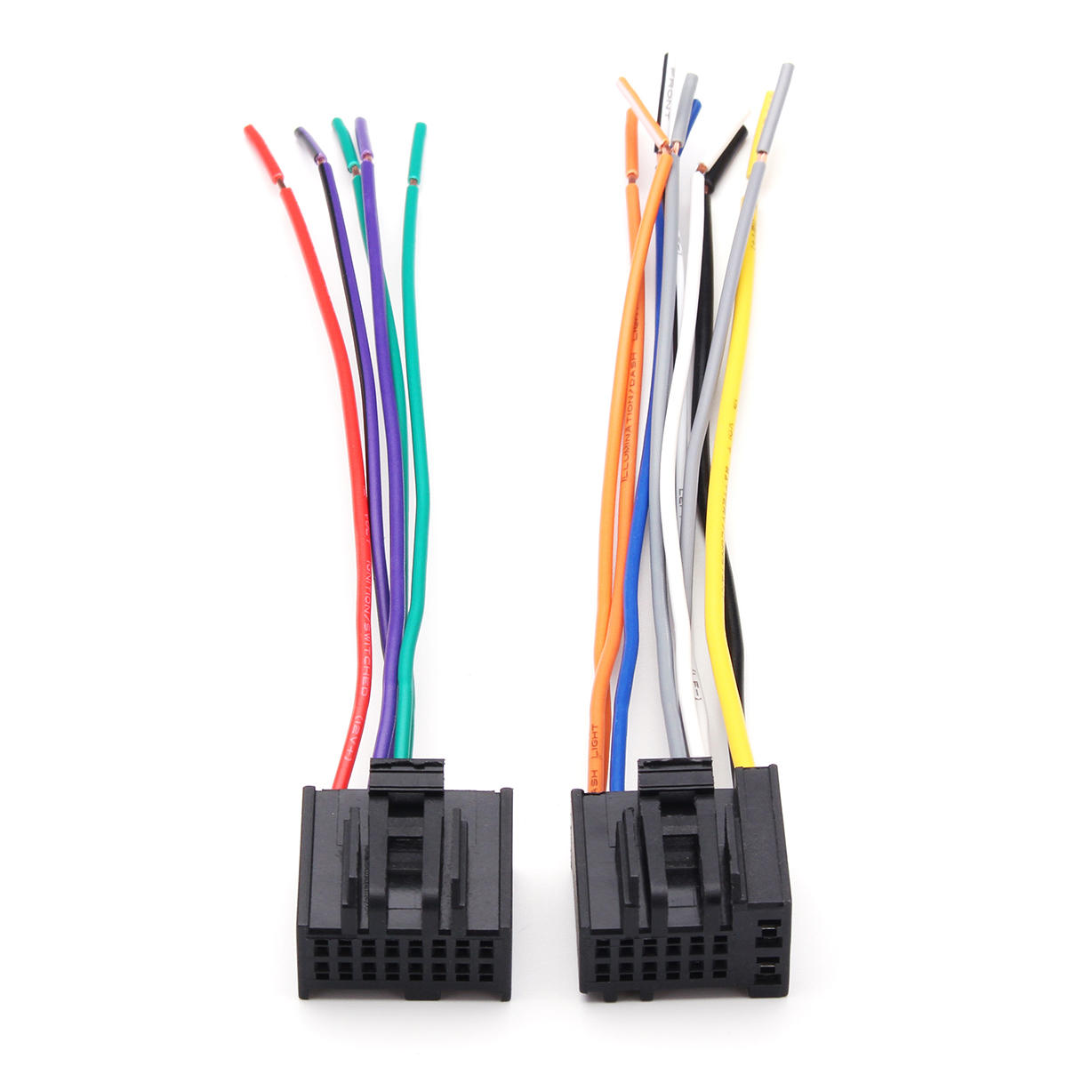 2Pcs Car Radio Stereo Speaker Wiring Harness Plug Cable for Chevrolet Best Buy Car Stereo Wiring Harness on car speaker, car stereo alternators, 95 sc400 stereo harness, car stereo sleeve, leather dog harness, car wiring supplies, car stereo with ipod integration, car fuse, car stereo cover,