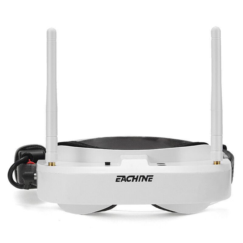 Eachine EV100 720*540 5.8G 72CH FPV Goggles With Dual Antennas Fan 7.4V 1000mAh Battery Case For RC Drone