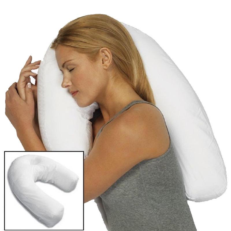 Unisex Sleeper Pillow Neck Spine Shoulder Support Cushion