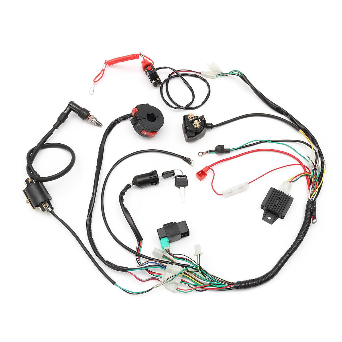 110cc Wiring Harness - Wiring Diagram Work on