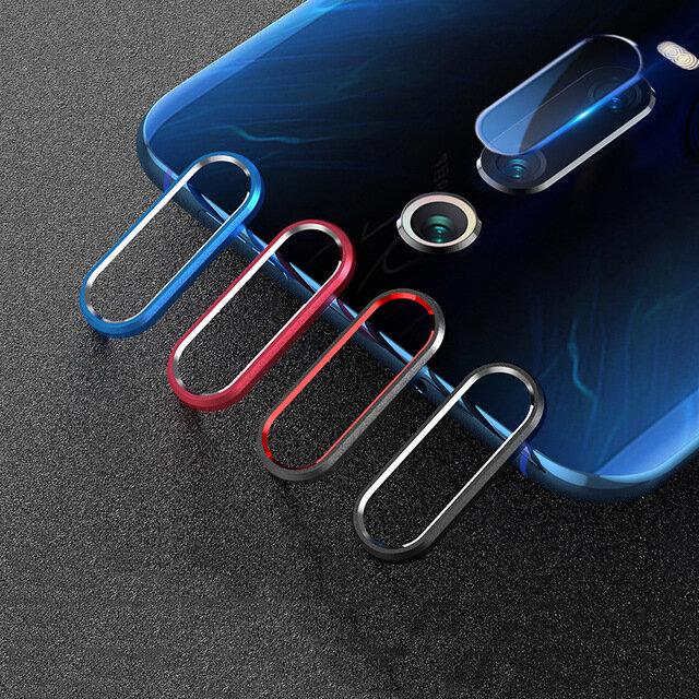 Bakeey Anti-scratch Metal Circle Ring + Tempered Glass Phone Camera Lens Protector for Xiaomi Mi 9T / Mi9T PRO / Xiaomi Redmi K20 / Redmi K20 PRO