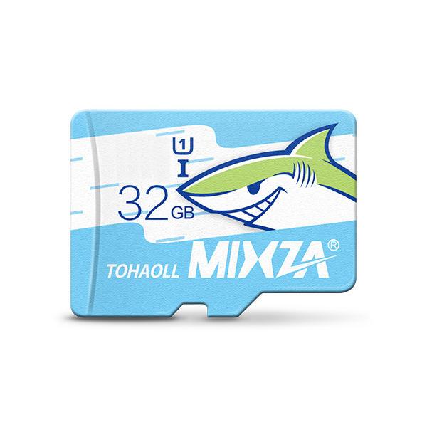 MIXZA Edizione di Squalo Micro Scheda SD di Memoria 32GB Class10 per Smartphone MP3 Fotocamera
