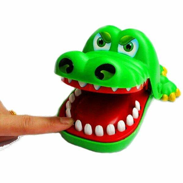 Boca Grande Crocodilo Mordida Dedo Engraçado Pai-filho Brinquedo Educativo