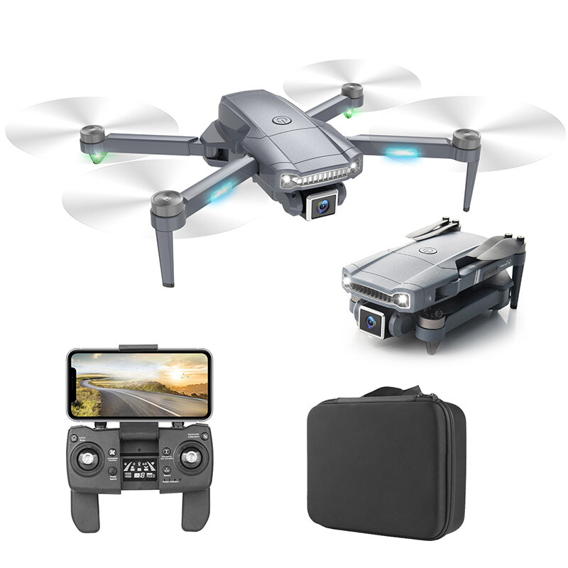 S179GPS 5G WIFI FPV GPS with 6K Wide-angle Dual Camera 20mins Flight Time Optical Flow Brushless RC Drone Quadcopter RTF