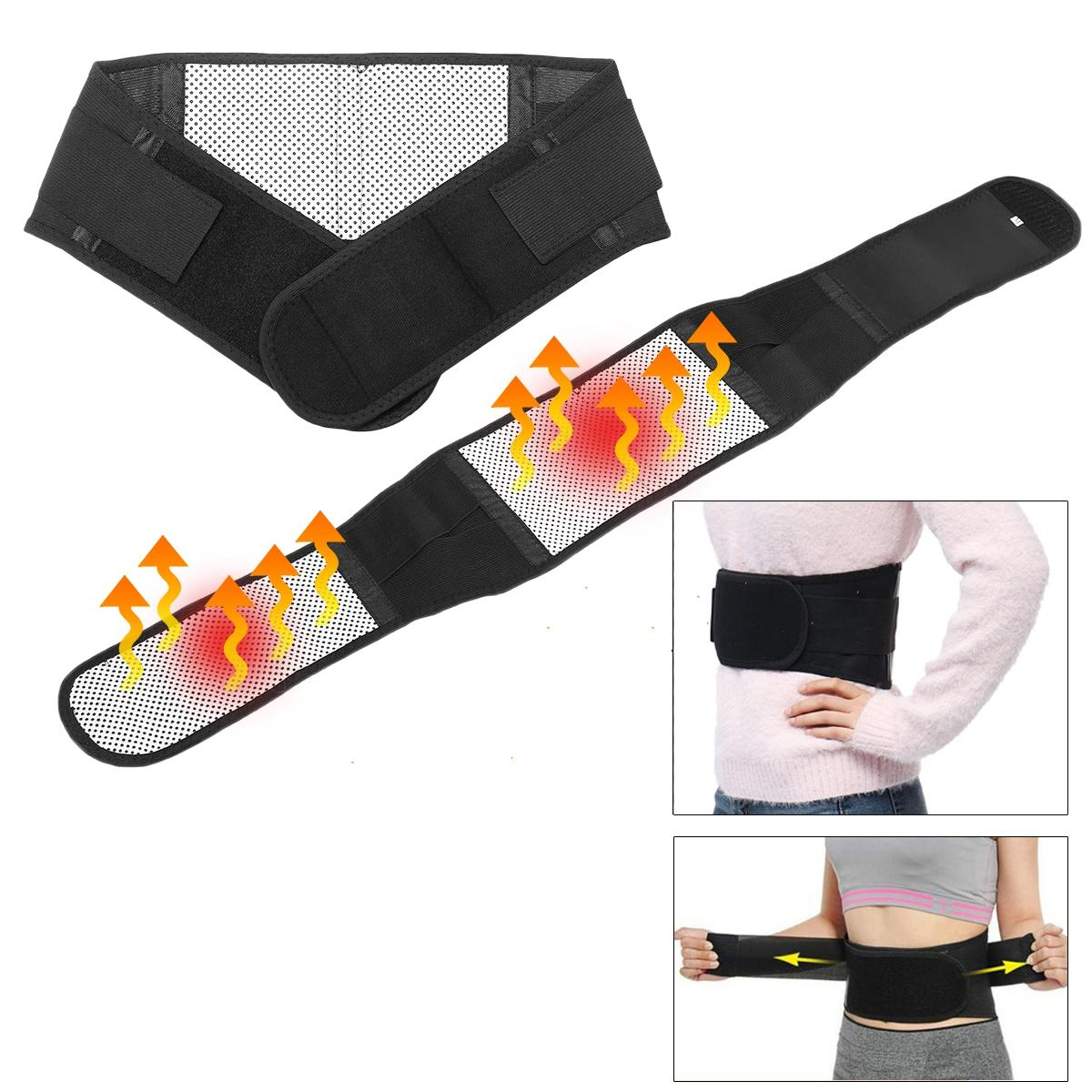97742e6da89 Magnetic Heat Waist Belt Brace For Pain Relief Lower Back Lumbar Therapy  Support COD