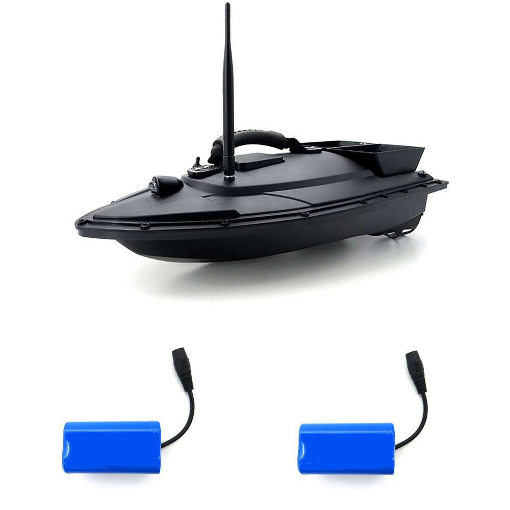 URUAV 2011-5 with 2 Batteries Fishing Bait RC Boat 500M Remote Fish Finder 5.4km/h Double Motor Toys