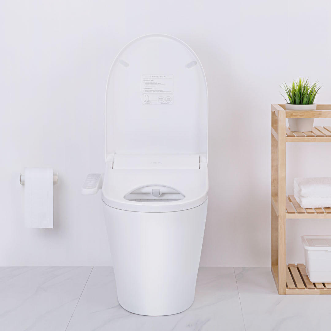 Super Tinymu Home Smart Multifunctional Anti Bacteria Toilet Seat 3 Grade Adjustable Water Temperature Led Light Electronic Bidet With App From Xiaomi Machost Co Dining Chair Design Ideas Machostcouk