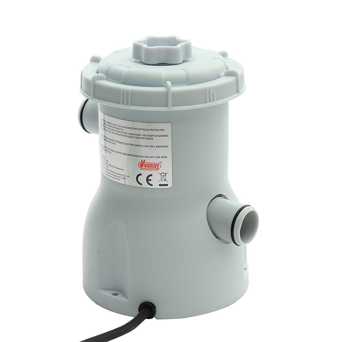 220v electric filter pump swimming pool filter pump water clean ...