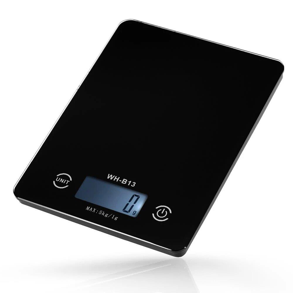 3Life H17906B 5KG / 1G Precisa Pantalla táctil Cocina Escala LCD Retroiluminación Cocina digital Escala G / LB / OZ para hornear Función de tara para cocinar Desde XIAOMI Youpin