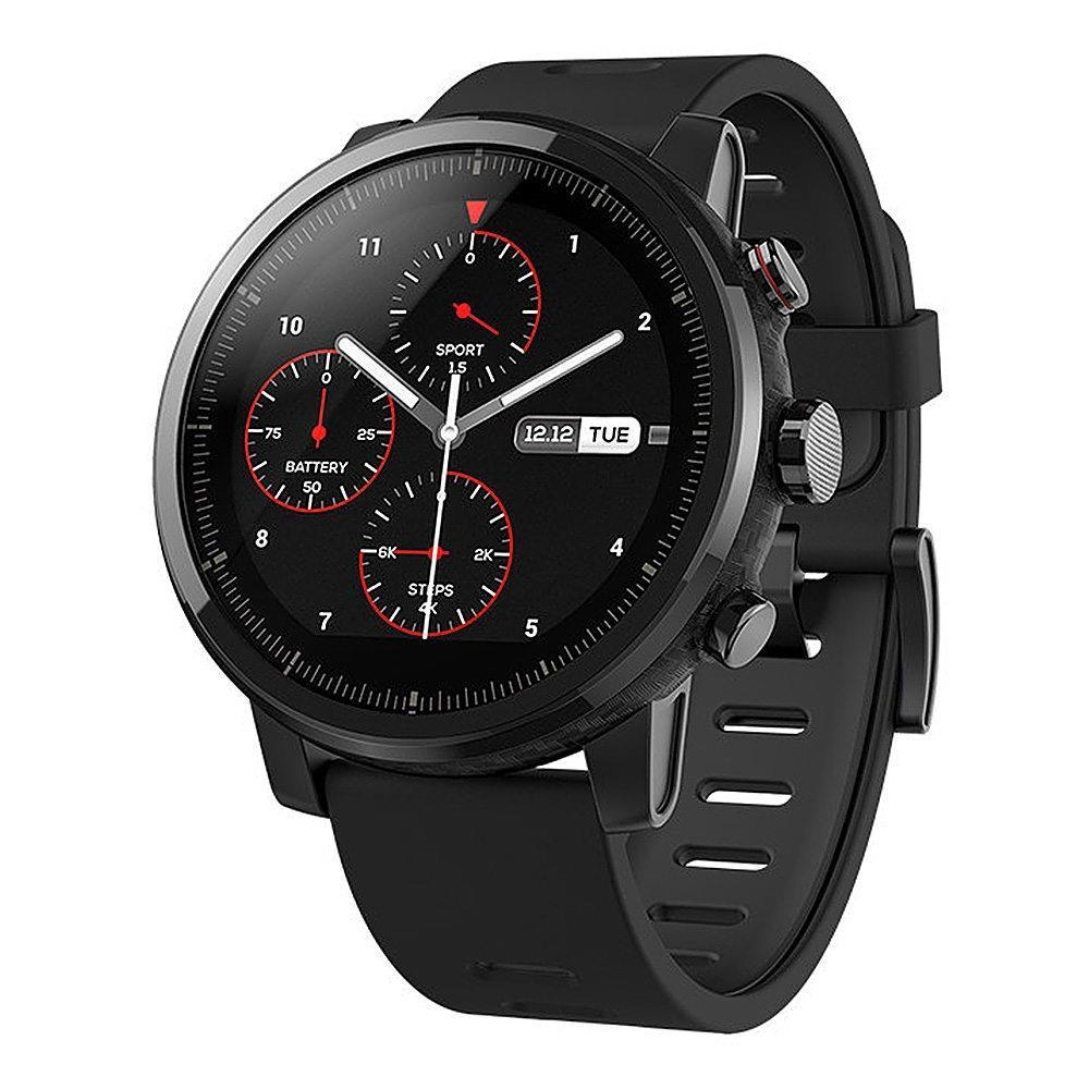 International Version Xiaomi AMAZFIT Huami Strato Sports Smart Watch 2 GPS 1.34inch 2.5D Screen 5ATM