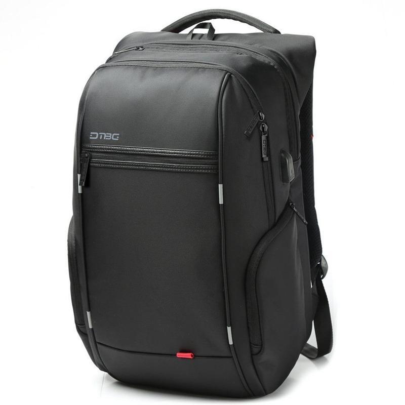 """15,6 """"/ 17,3"""" Laptop Ryggsekk Vesker Reise Bag Med Ekstern USB Ladestasjon"""