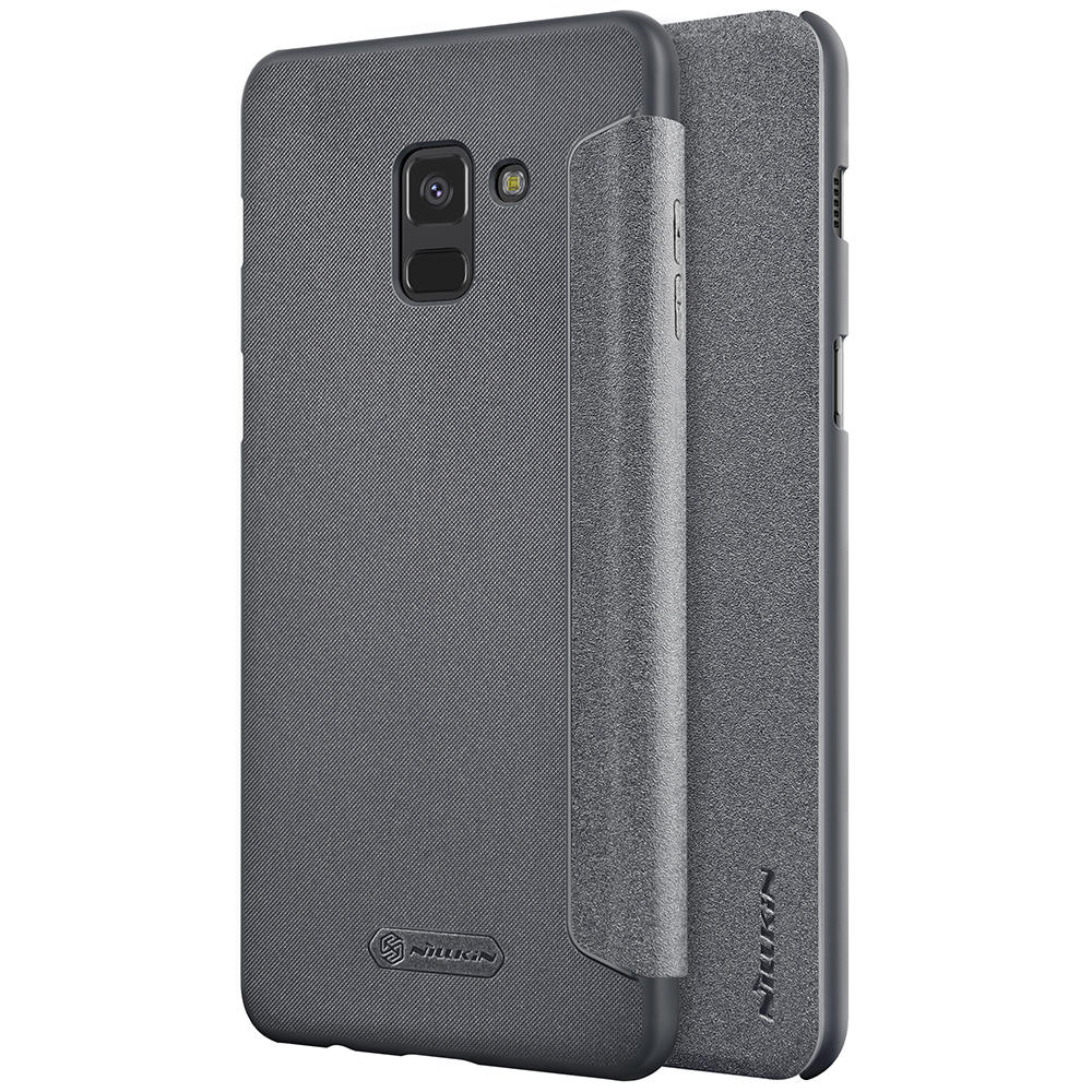 separation shoes 9ca51 5f2f3 NILLKIN Flip PU Leather Hard PC Protective Case for Samsung Galaxy A8 (2018)
